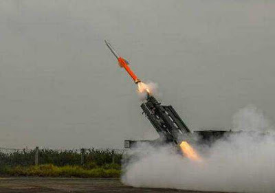 Quick Reaction Surface-To-Air Missiles Tested