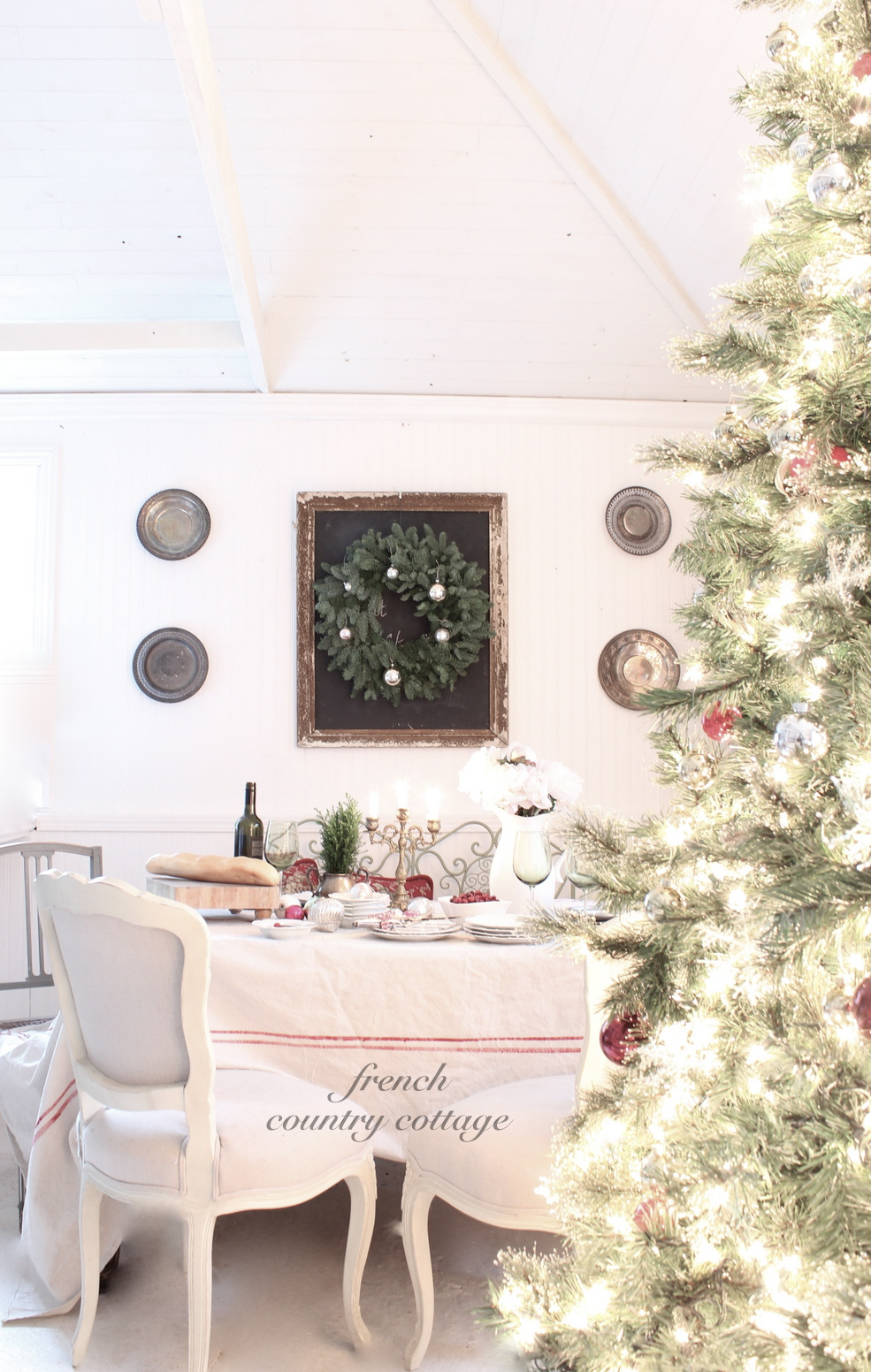 A Little Dining Room French Country Cottage