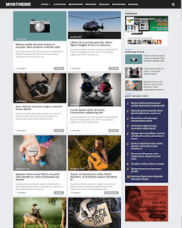 download template blogger gratis : Mostheme - Clean, High CTR and Responsive