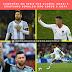 Campeões em série por clubes, Messi e Cristiano Ronaldo dão adeus a Copa