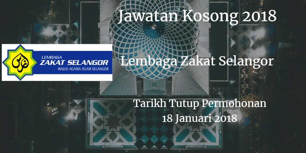 Jawatan Kosong MAIS 18 Januari 2018