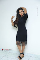 Telugu Actress Karunya Chowdary Latest Stills in Black Short Dress at Edo Prema Lokam Audio Launch .COM 0056.JPG