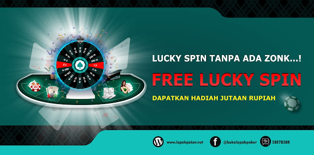 Free Lucky Spin Lapak Dewa Poker Fortune