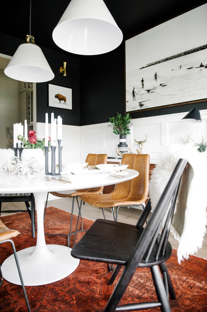 one room challenge eclectic mid century modern interior design