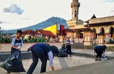 clean the city 2019 di temanggung