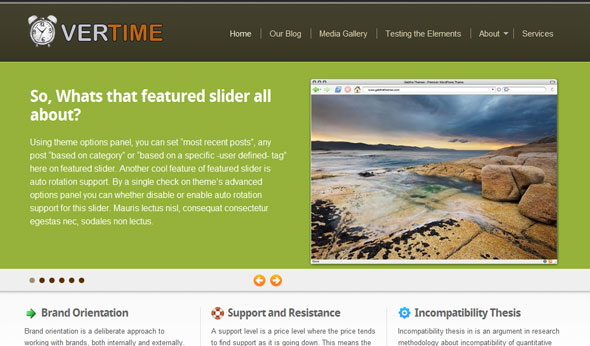 Overtime Wordpress Theme Free Download by Gabfire.