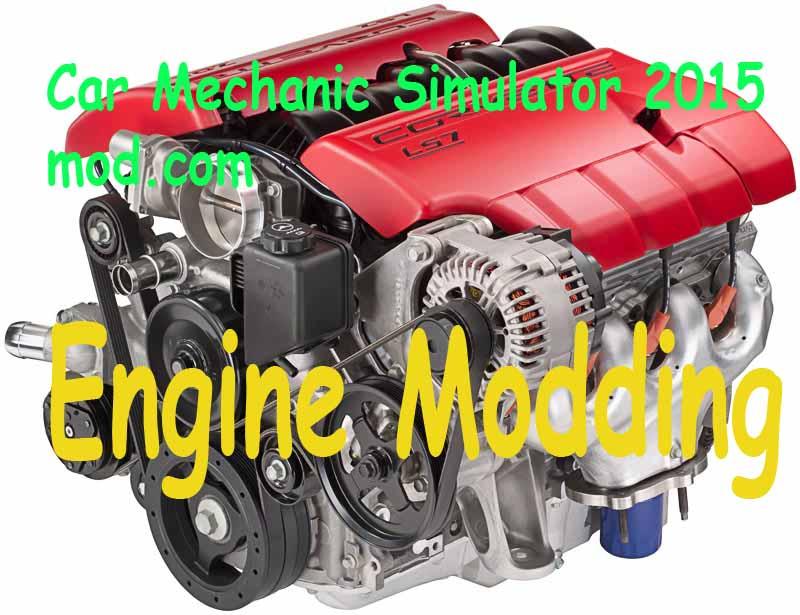 Engine Modding – Car Mechanic Simulator 2018 mods
