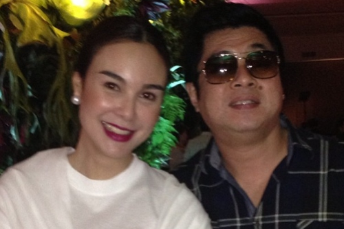 """Claudine Barretto Addresses The Accusation On Her Being: Gretchen Barretto Explains Photo With Randy Santiago: """" He"""