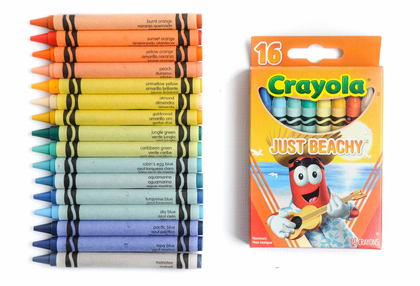 16 count tip collection crayola crayons what s inside the box