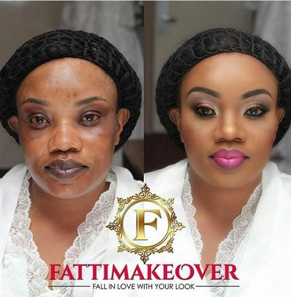 Makeup wins again..