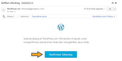 Cara Membuat Blog di Wordpress langkah 8