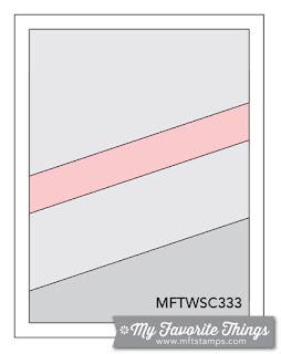 Sketch Challenge 333 #mftstamps