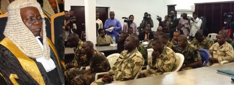 death sentence nigerian soldiers