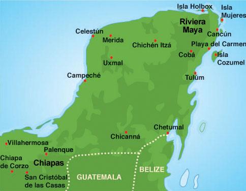 Cartina Yucatan E Chiapas.Viaggi Per Il Mondo Di Marco Pistolozzi Con Video Foto E Notizie Viaggio In Messico E Belize Dal 7 Al 23 Marzo 2016