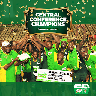 General Murtala Mohammed College, Yola, Adamawa won the prize/trophy in the Central Conference held in Abuja