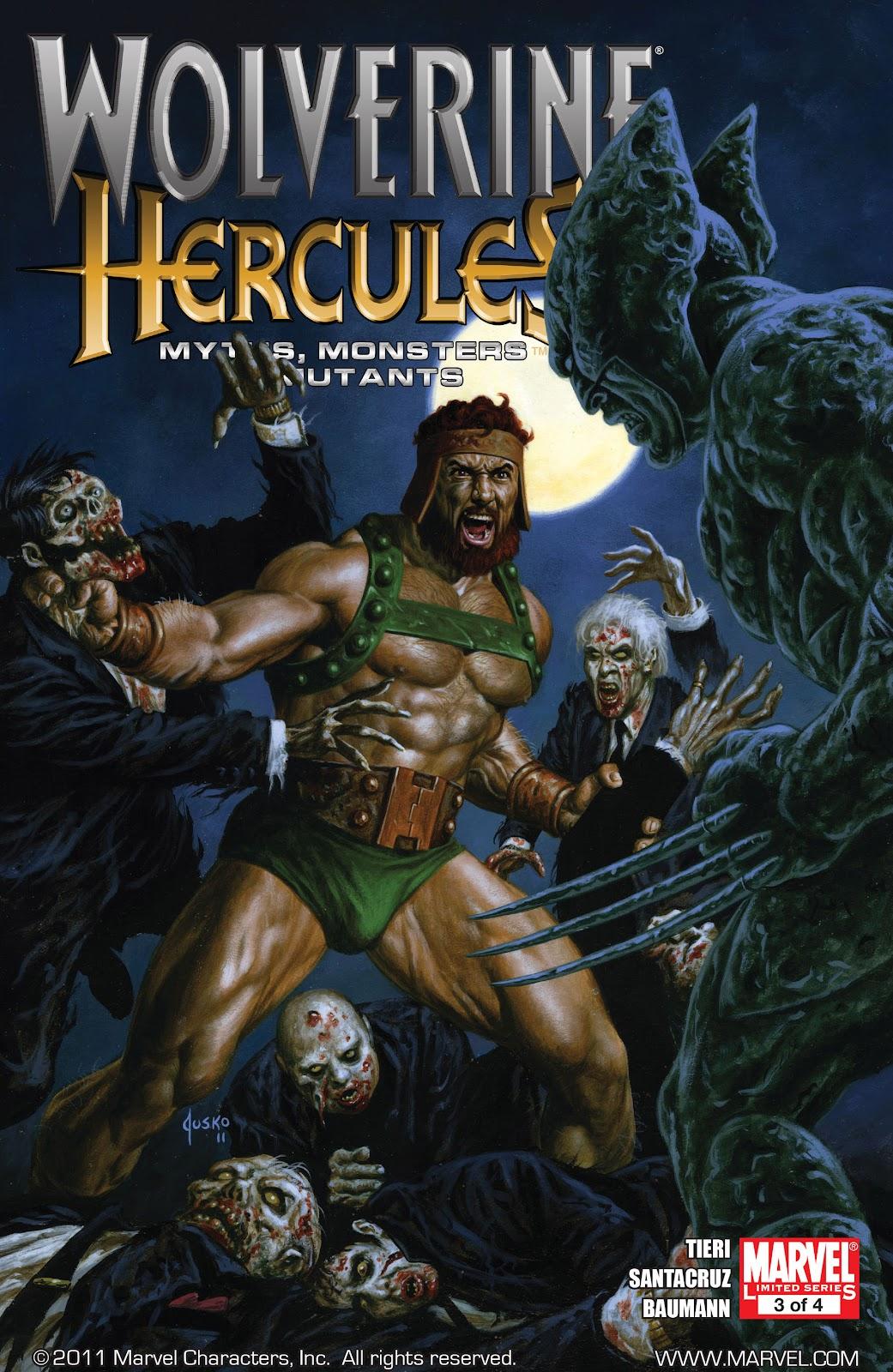 Comic Wolverine/Hercules - Myths, Monsters & Mutants issue 3