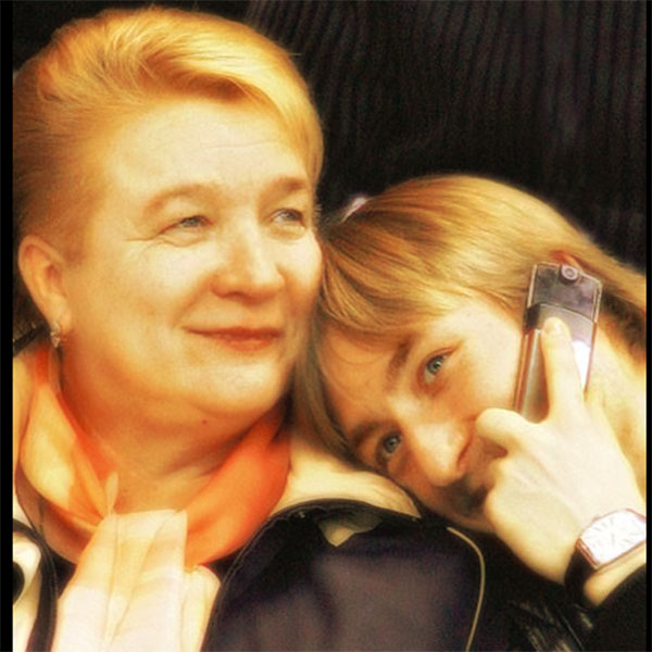 My mother died the famous skater Evgeni Plushenko