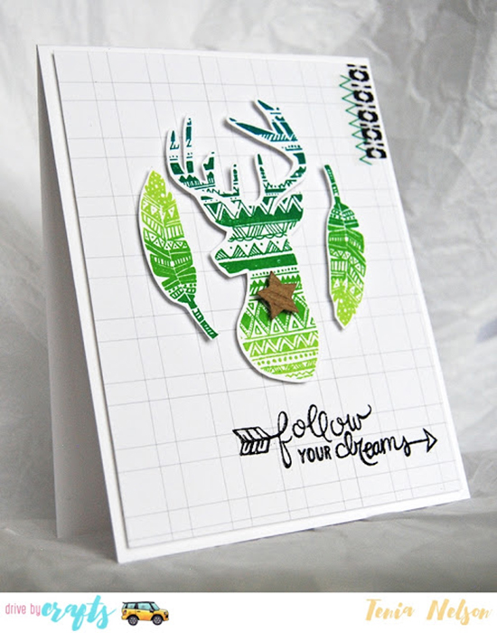 Jazzy Paper Designs: Follow Your Dreams | Adventure Awaits stamp set by Newton's Nook Designs #newtonsnook