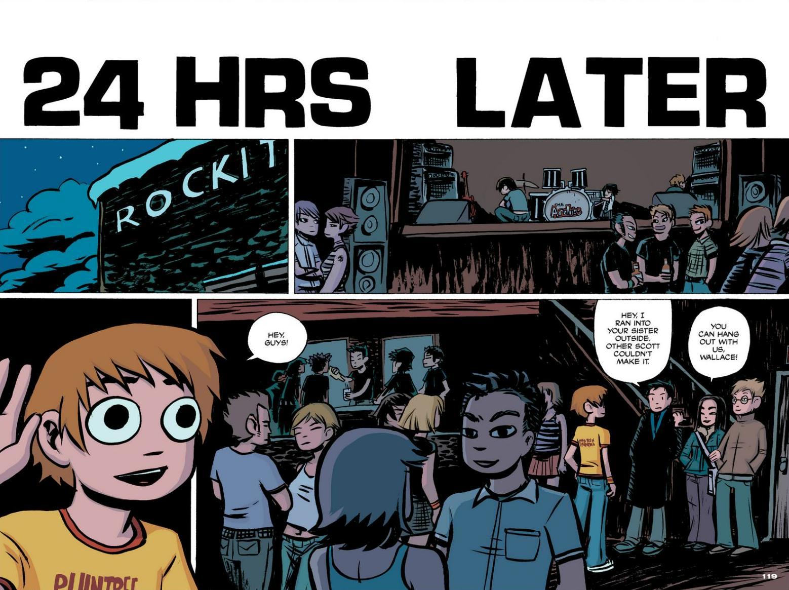 Read online Scott Pilgrim comic -  Issue #1 - 108