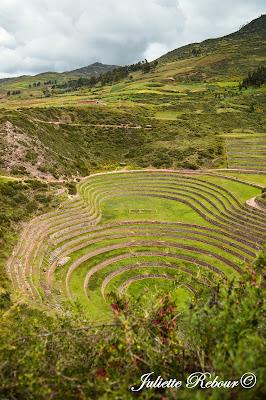 Ruines Incas dans la Vallée Sacrée