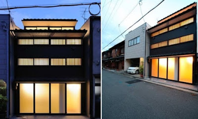 Residential building New Kyoto Town House