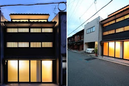 Residential building New Kyoto TownHouse - New spatial relationships by Alphaville