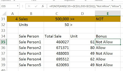 not function use in excel www.coursedots.com