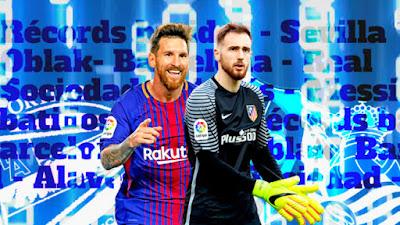 Best goalscorer & best goalie for La Liga 2017-2018
