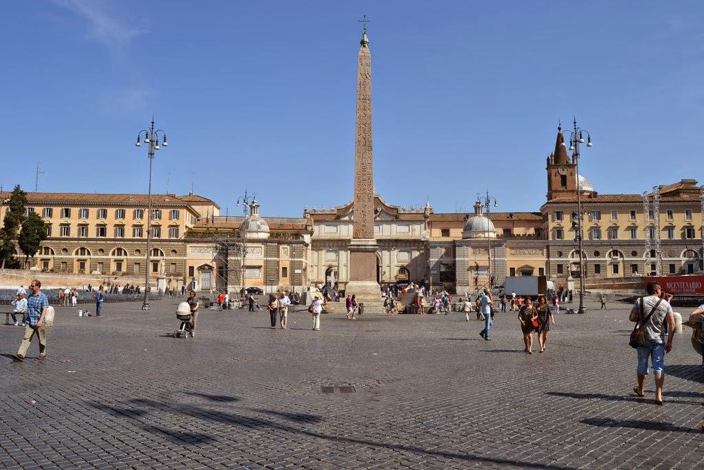 Pieroeffenews Piazza Del Popolo A Roma