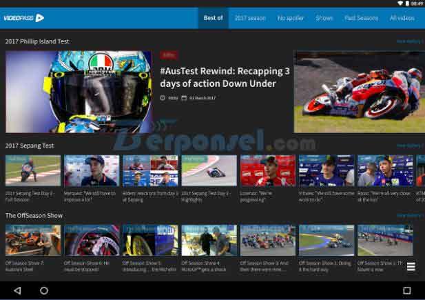 5 Aplikasi TV Streaming MotoGP Android Terpopuler 2019 - Berponsel.net