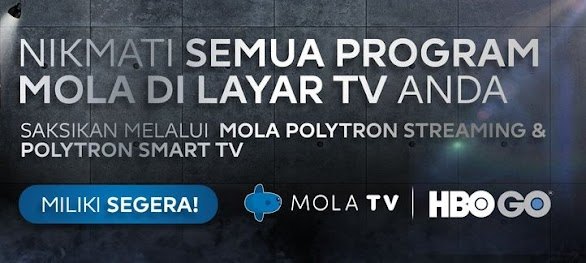 Voucher Langganan Mola TV Live Streaming