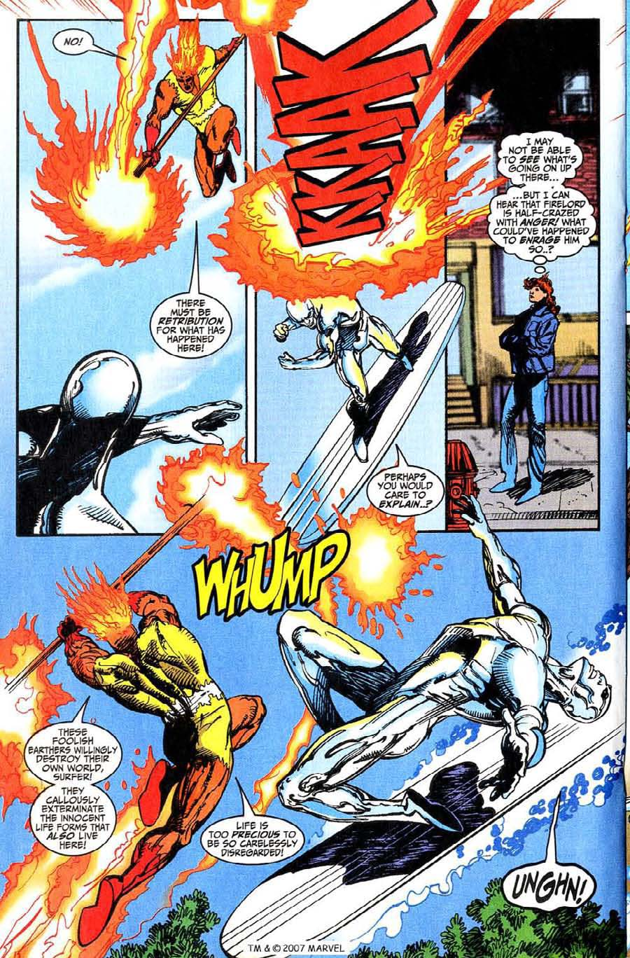 Read online Silver Surfer (1987) comic -  Issue #146 - 22