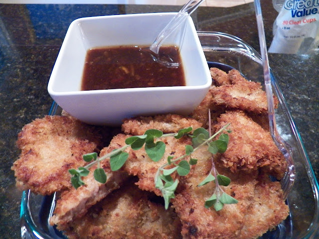 Heavenly Orange Pork Fritters