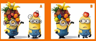 Answer of Picture Puzzles to spot the differences
