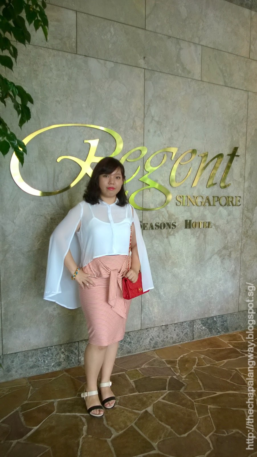 regent singapore, wedding lunch, event, ootd, casual formal chic