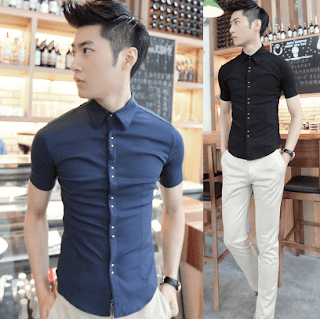 short men's clothing style