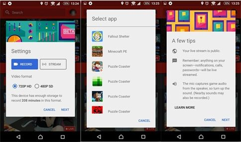 Cara Live Streaming Youtube di Android Menggunakan Aplikasi Youtube Gaming