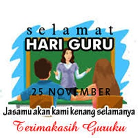 Kata kata Bijak Ucapan Selamat Hari Guru 25 November