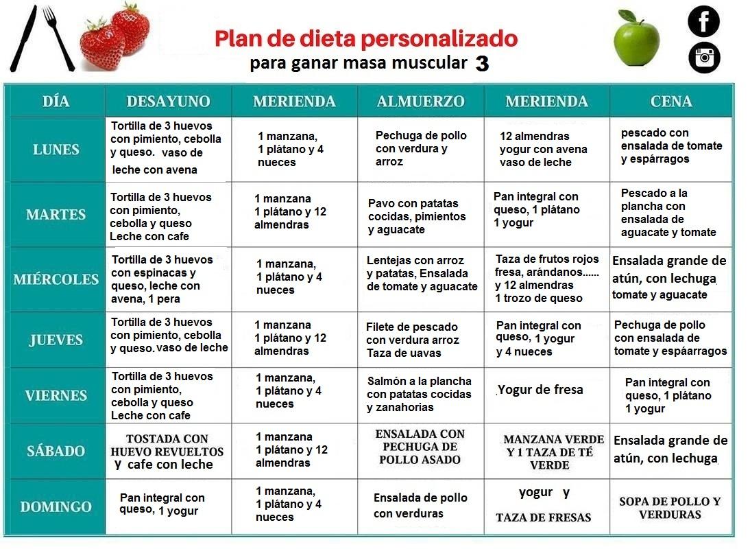 Guia de Alimentacion para Aumentar masa muscular - Blog ...