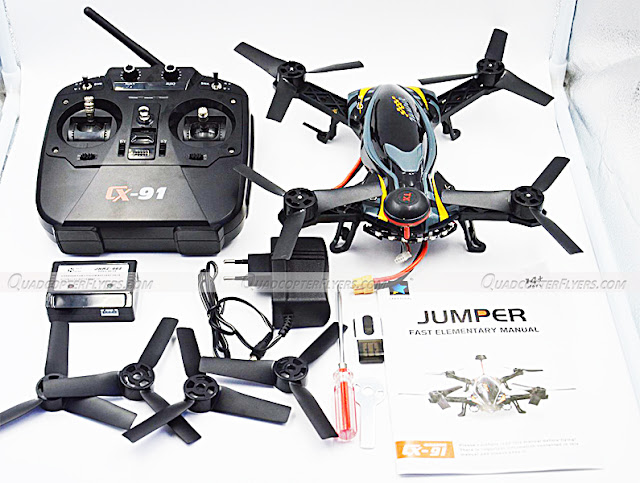 Cheerson CX-91 FPV Racer Quadcopter Unboxing