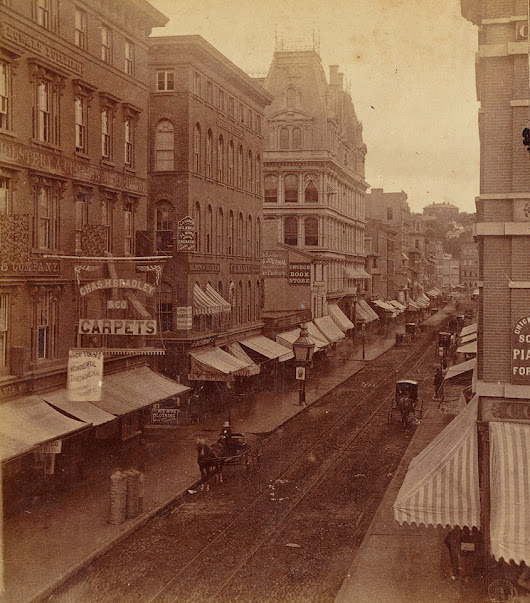 vintage everyday: Vintage Photos of Providence, Rhode Island, ca.1860-1880