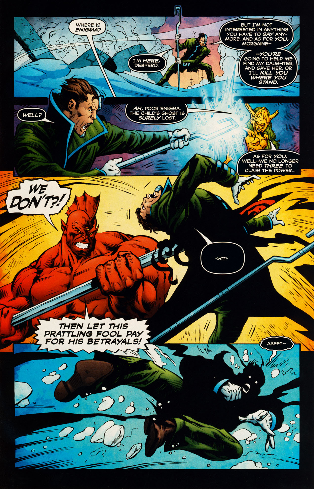 Read online Trinity (2008) comic -  Issue #51 - 13