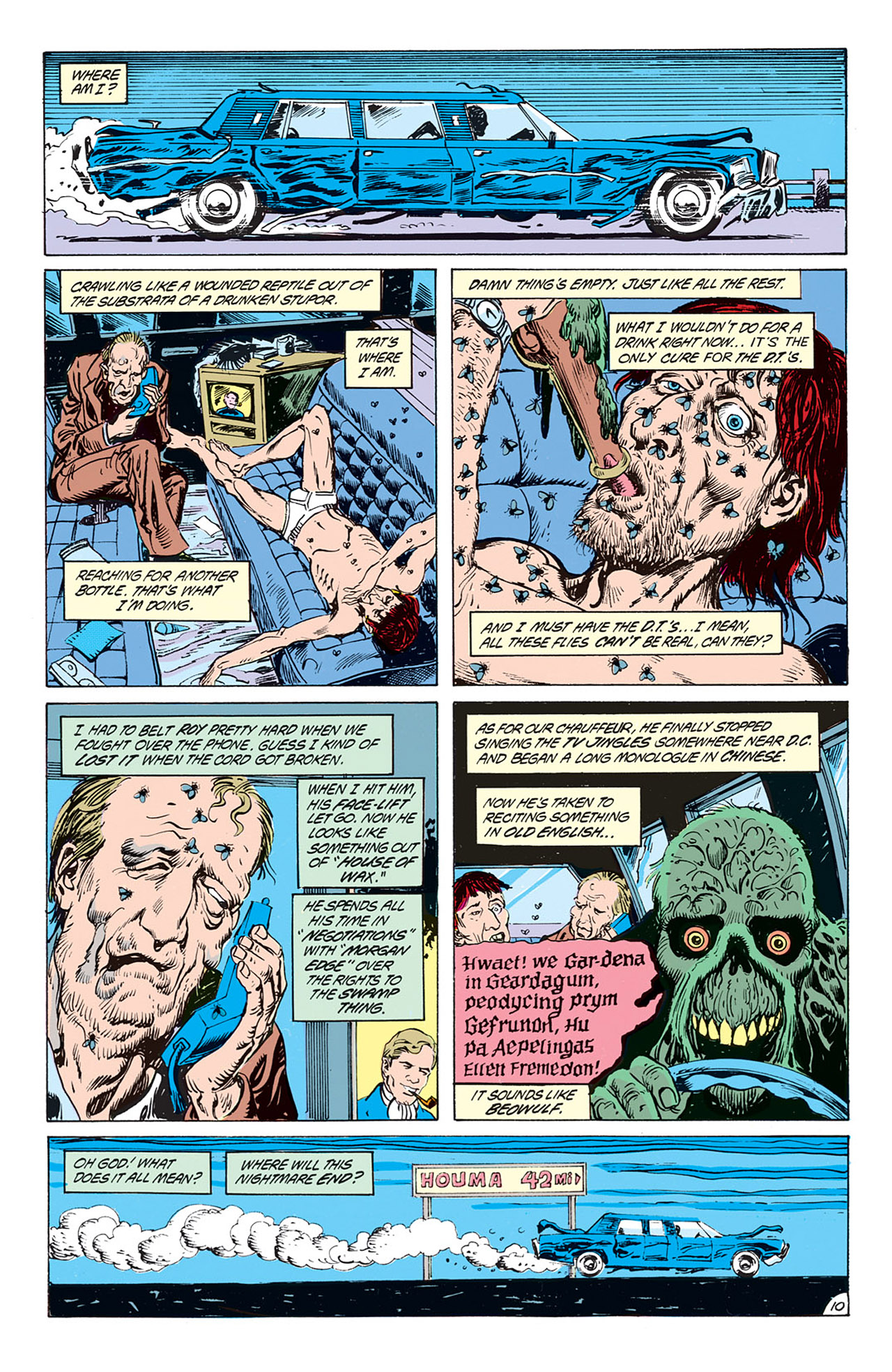 Swamp Thing (1982) Issue #73 #81 - English 11