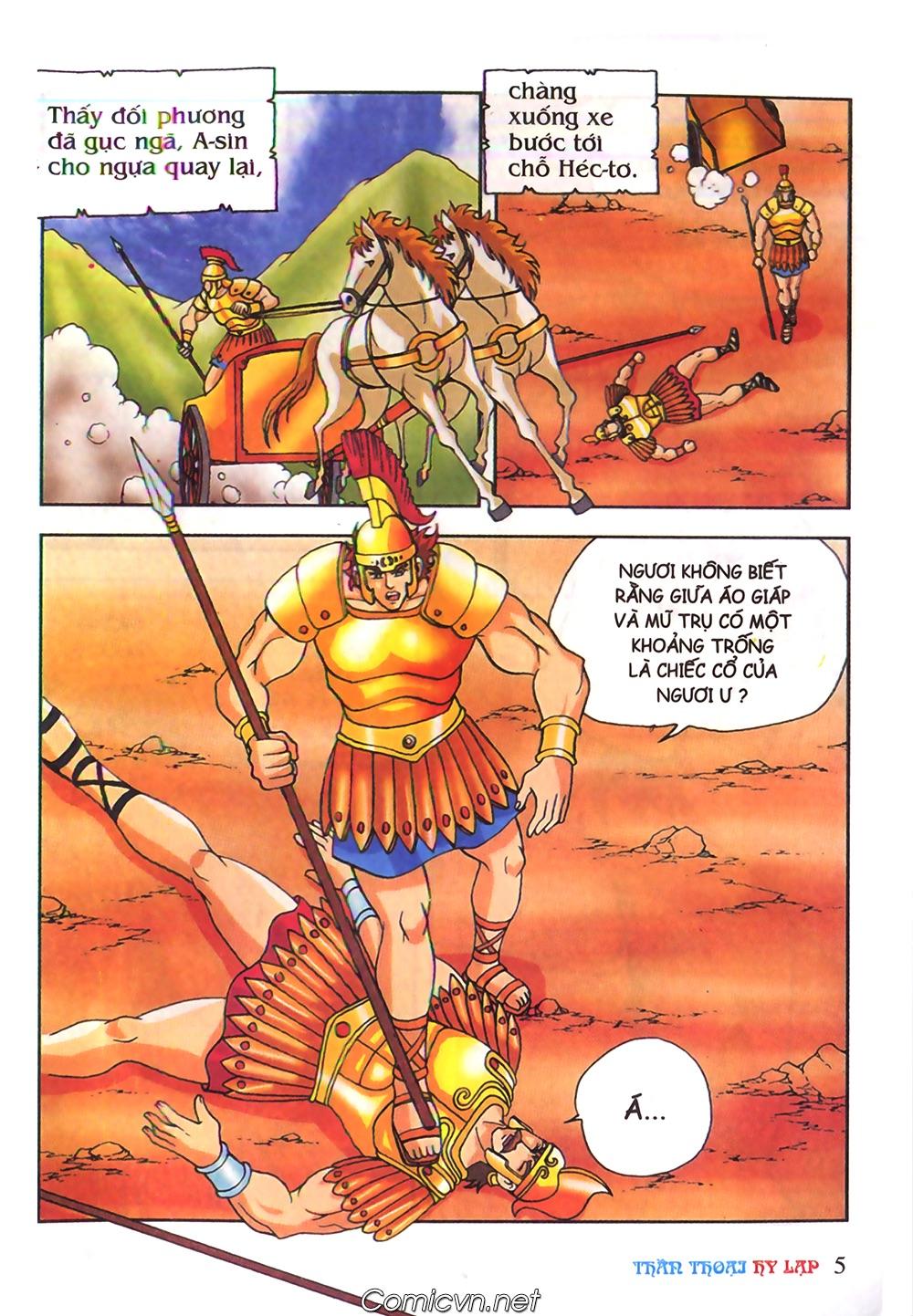 Thần Thoại Hy Lạp Màu - Chapter 62: Hector tử trận - Pic 5