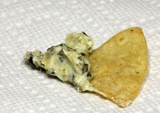 Spinach & Artichoke Dip with Homemade Tortilla Chips