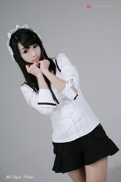 5 Im Soo-Yeon – Black and White - very cute asian girl-girlcute4u.blogspot.com