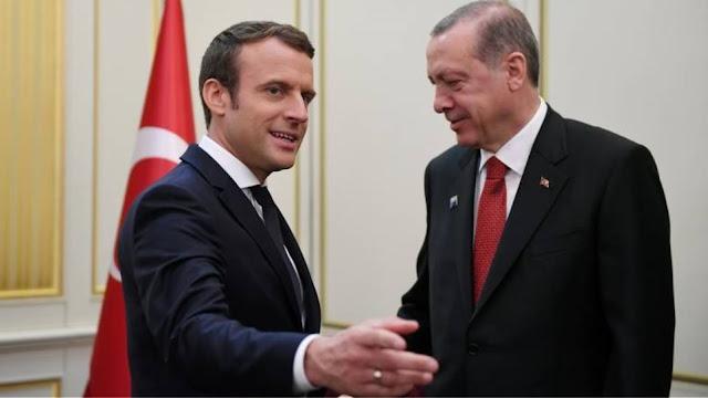 """Έξαλλος ο Ερντογάν με τον Γάλλο πρόεδρο για τη θέσπιση Ημέρα Μνήμης της """"Γενοκτονία"""""""