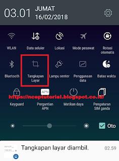 Cara Mengambil Gambar Layar (screenshot) di Lenovo A6000
