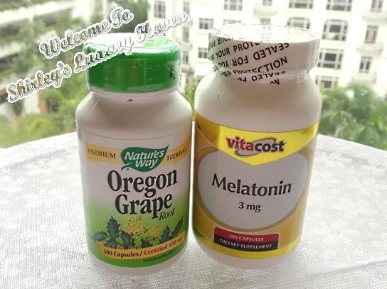 vitacost oregon grape, melatonin