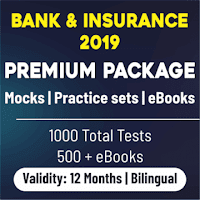Reasoning Practice Set for SBI 2019 Preparation | Free PDF